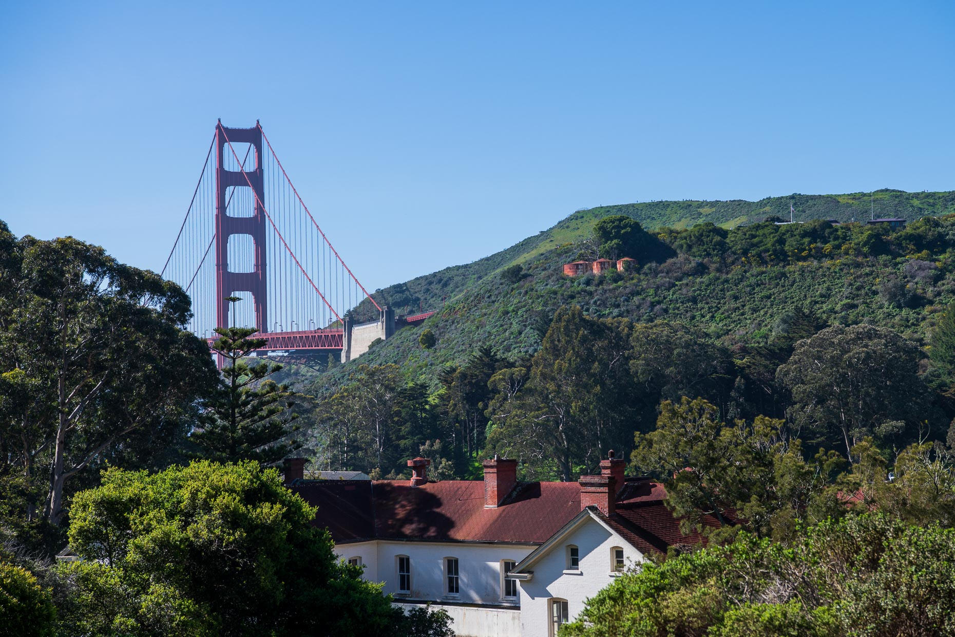Golden Gate Bridge from Cavallo Point
