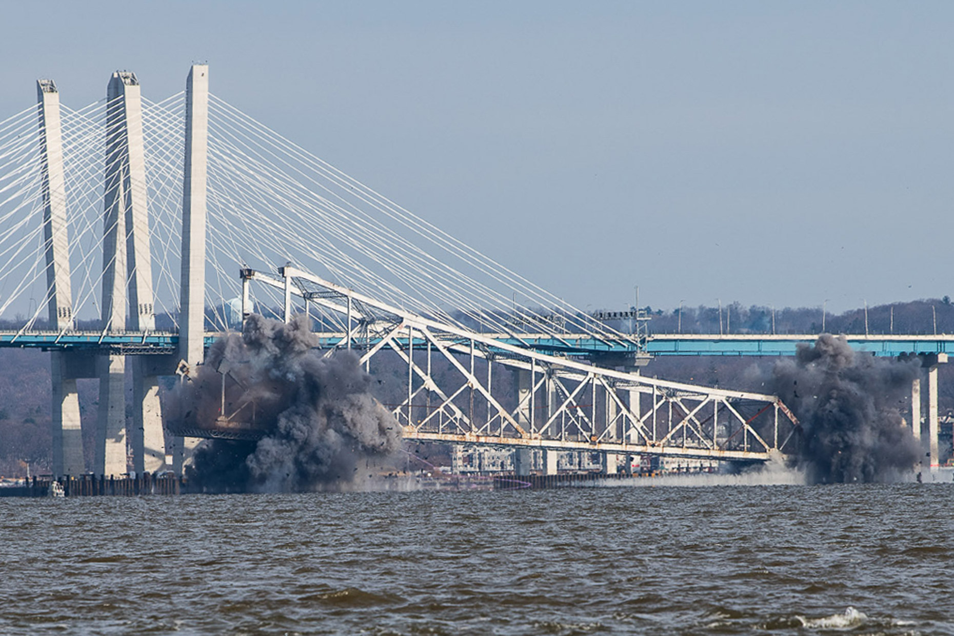 Tappan zee Bridge demolition